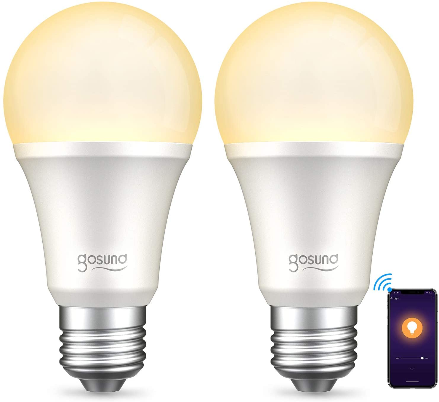 warm light bulbs