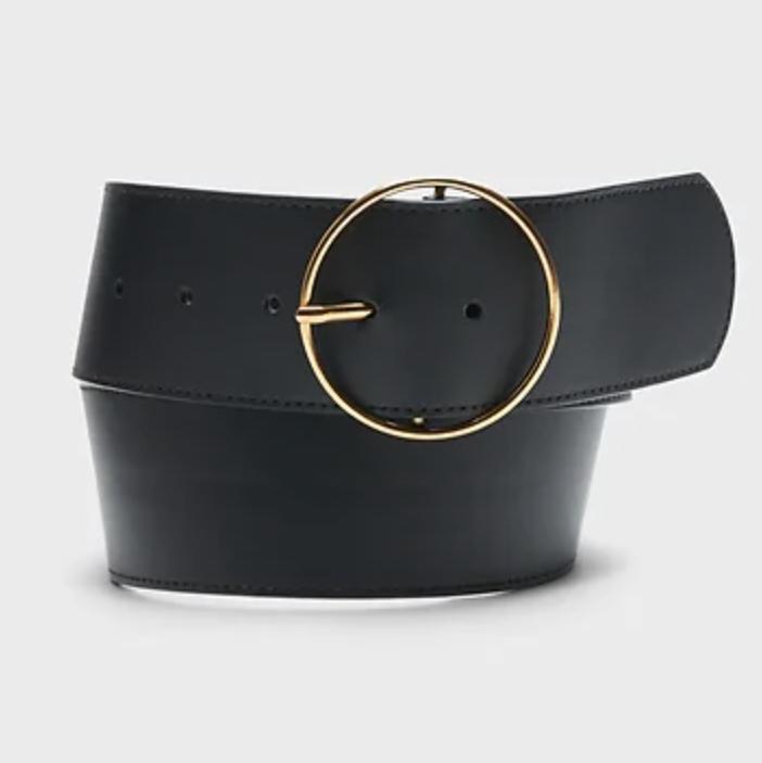 fashion editor buckle belt black friday