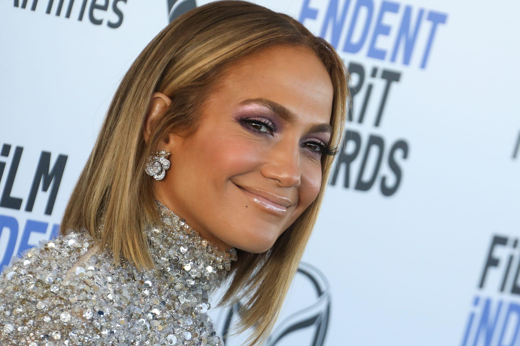 Jennifer Lopez at the Independent Spirit Awards