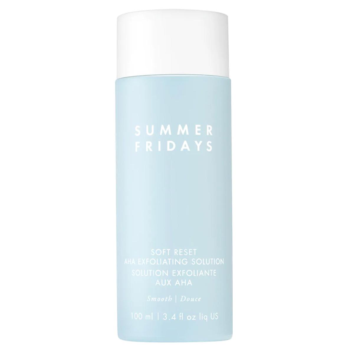 physical chemical exfoliants summer fridays