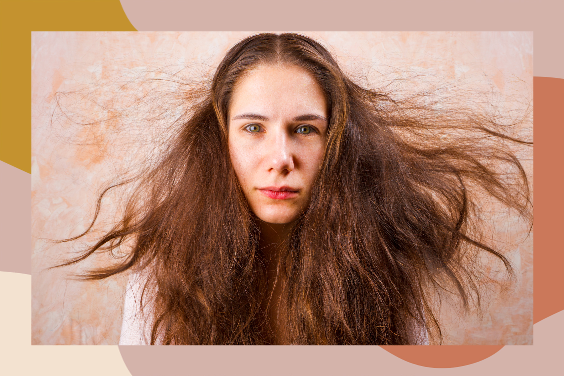 how to fix static hair