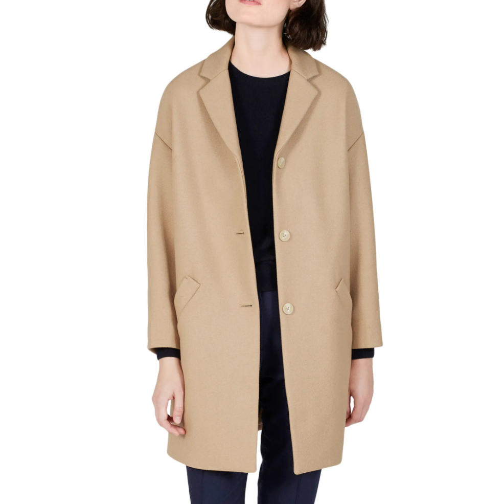 camel coats everlane
