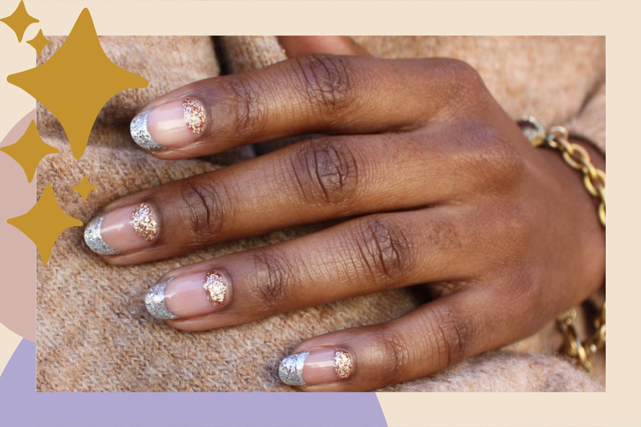new year's nail art ideas manicure