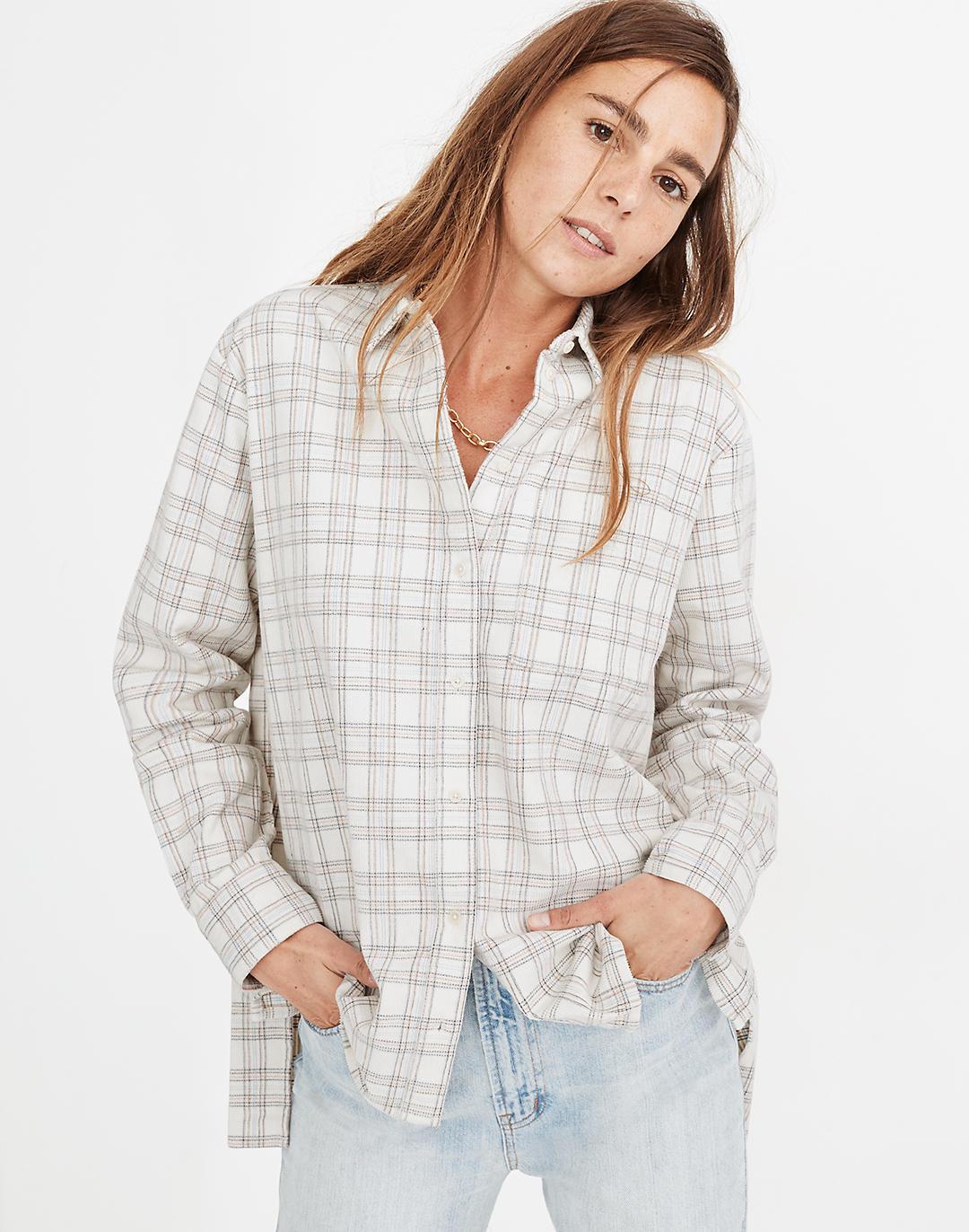 Madewell corduroy shirt