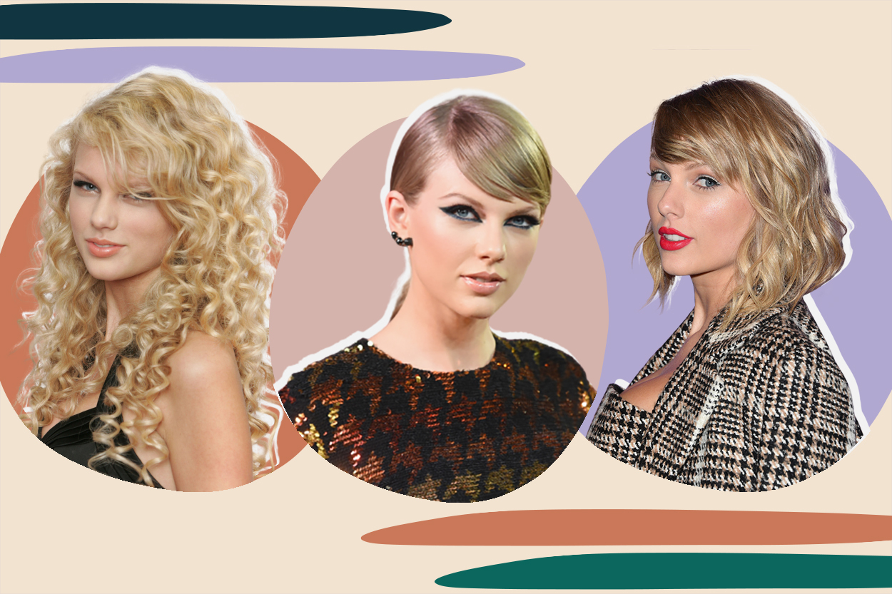 Taylor Swift beauty evolution