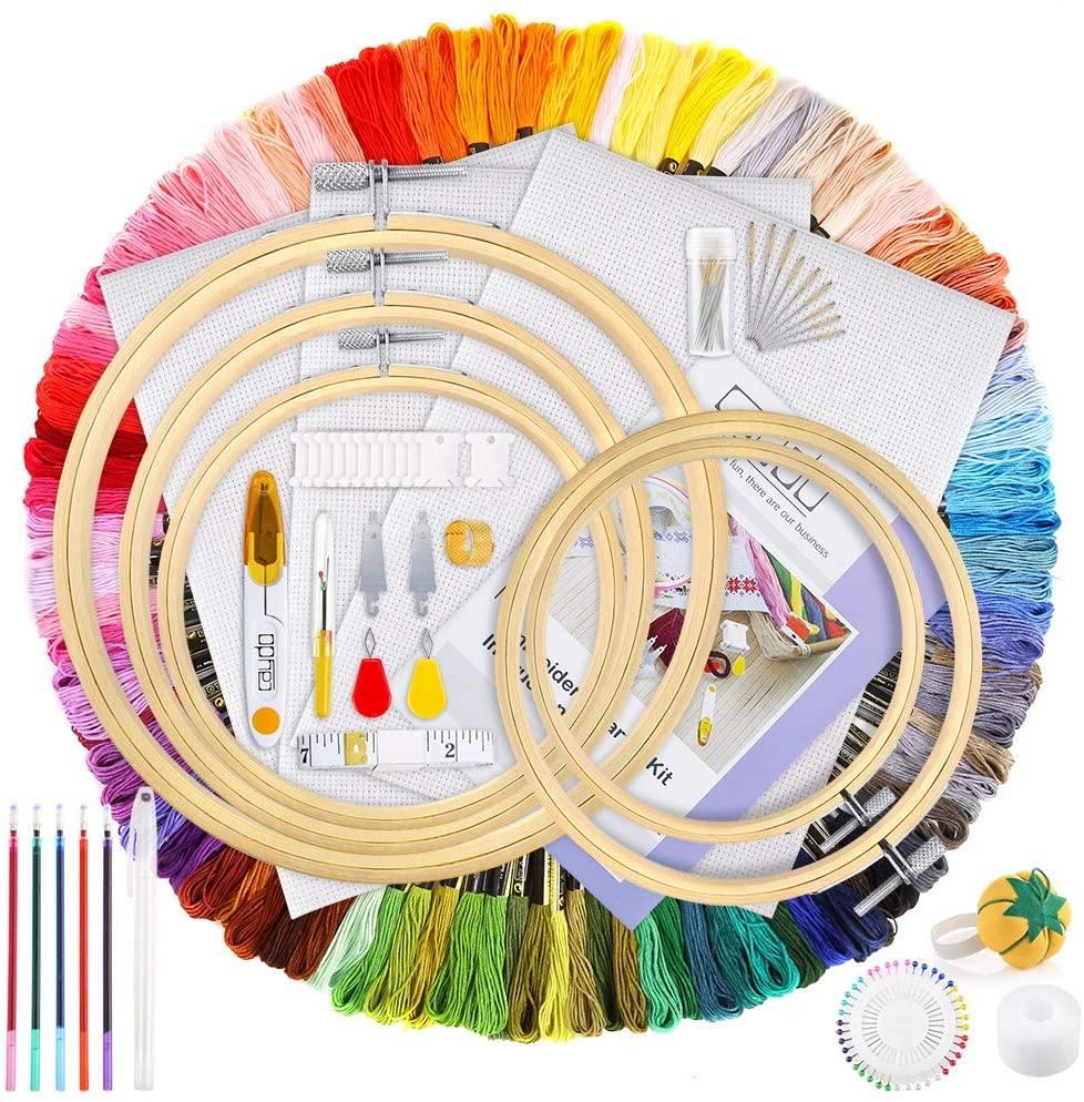 embroidery kit amazon