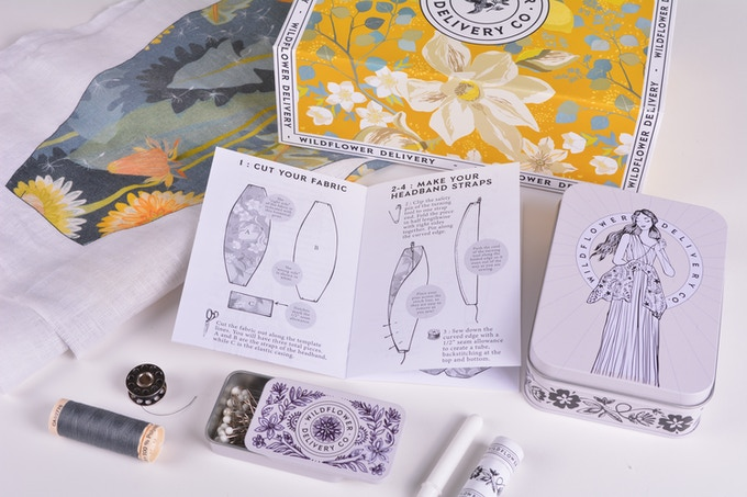 wildflower delivery co. sewing kit hobby gift guide