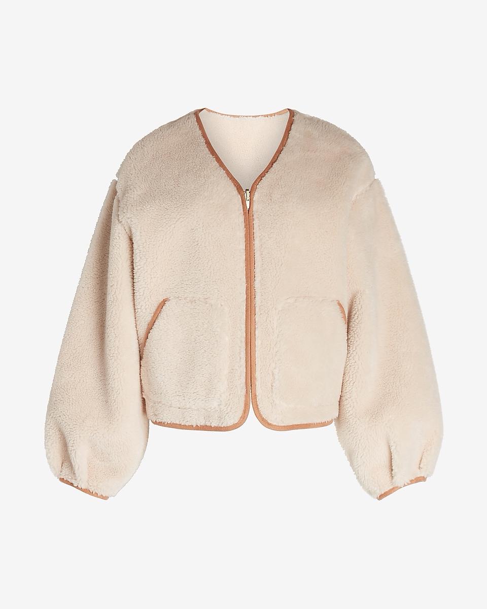 Express sherpa jacket