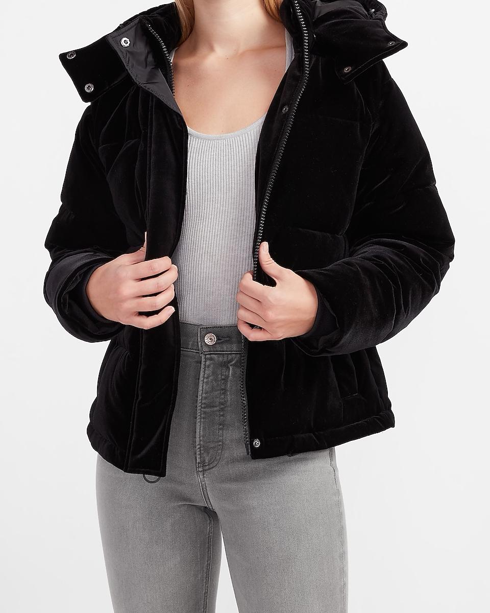 Express velvet coat