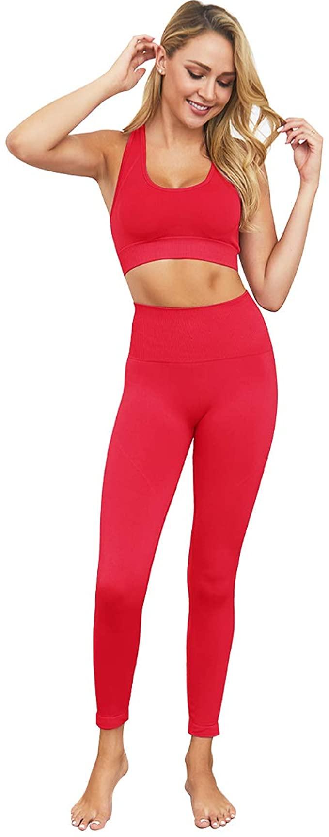 red matching set amazon