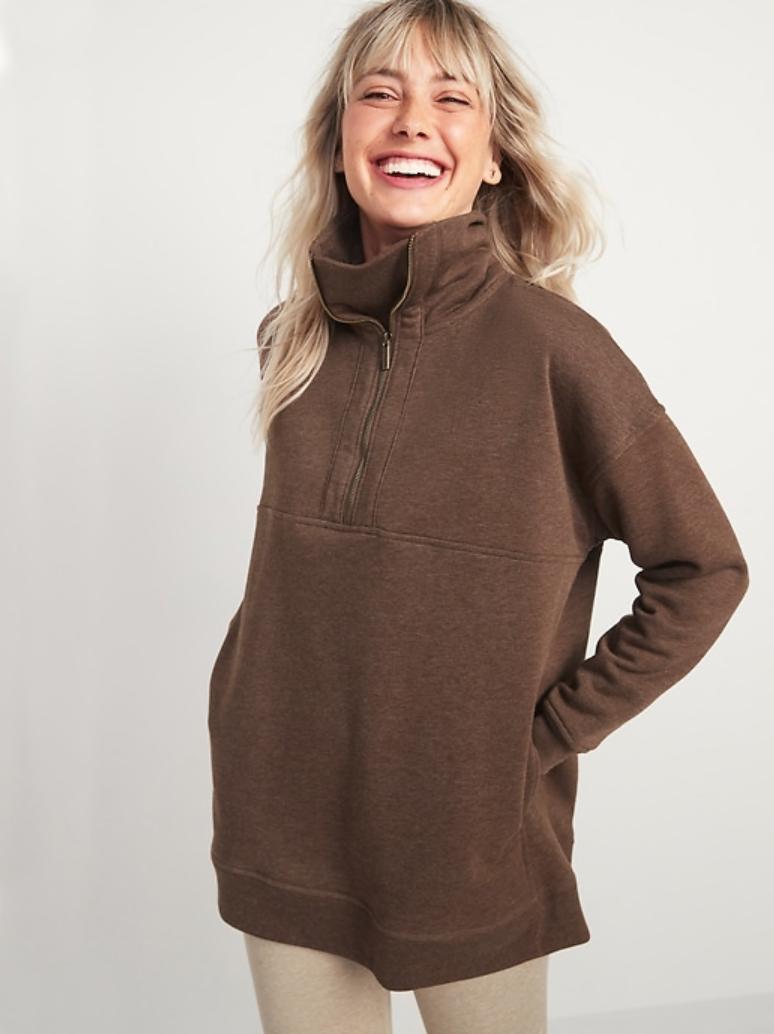 Old Navy half-zip sweater