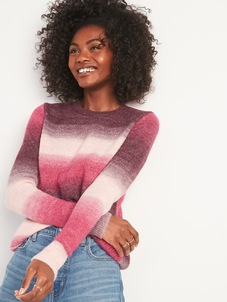 Old Navy ombre sweater