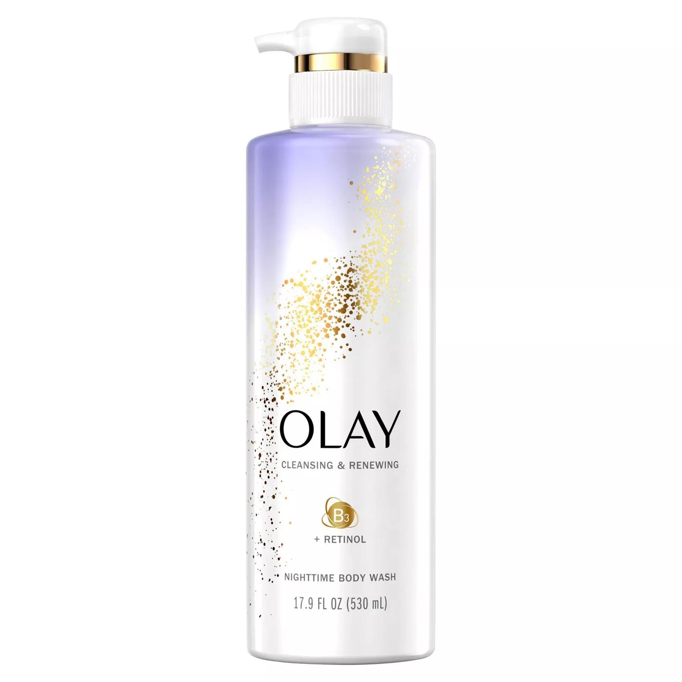 olay body wash with retinol