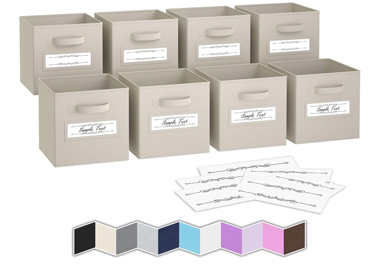storage bins, how to organize closet