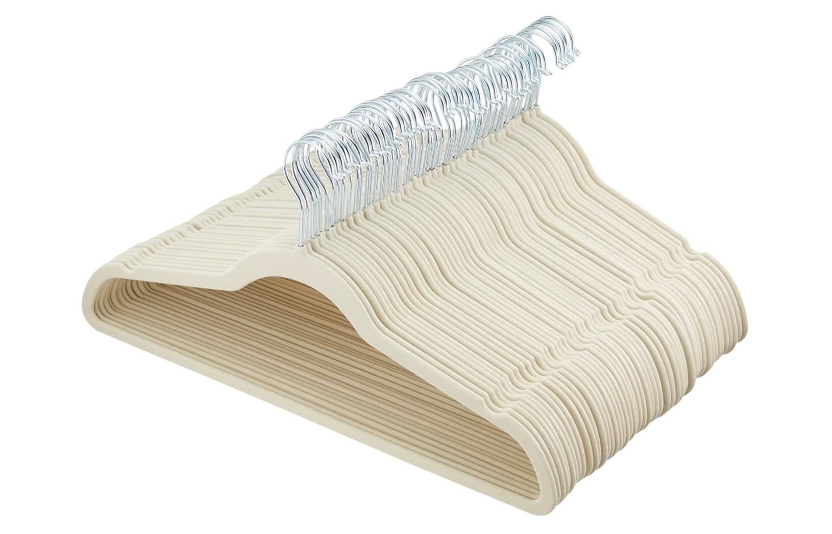 velvet hangers, best way to organize closet