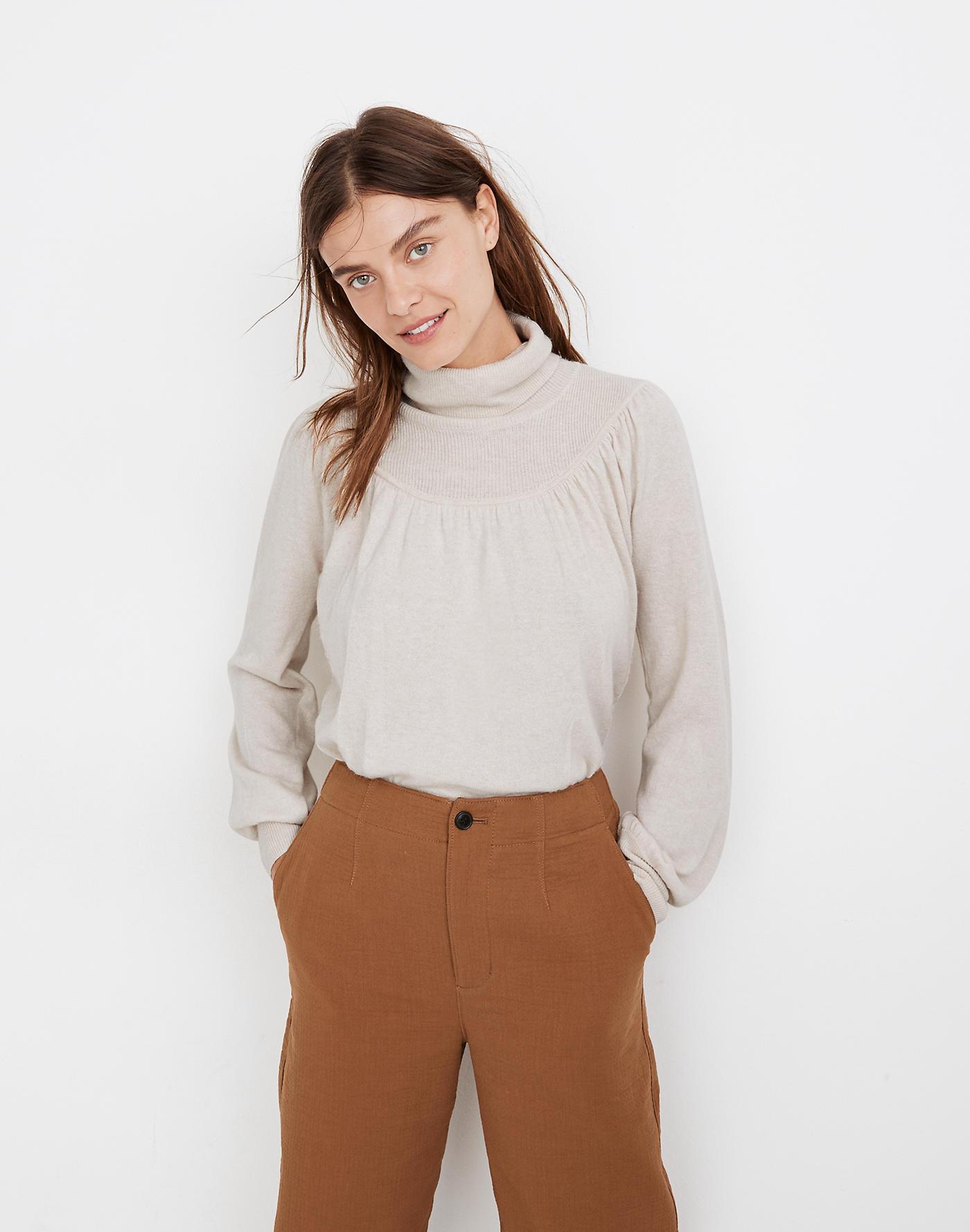 Madewell secret stock sale turtleneck sweater