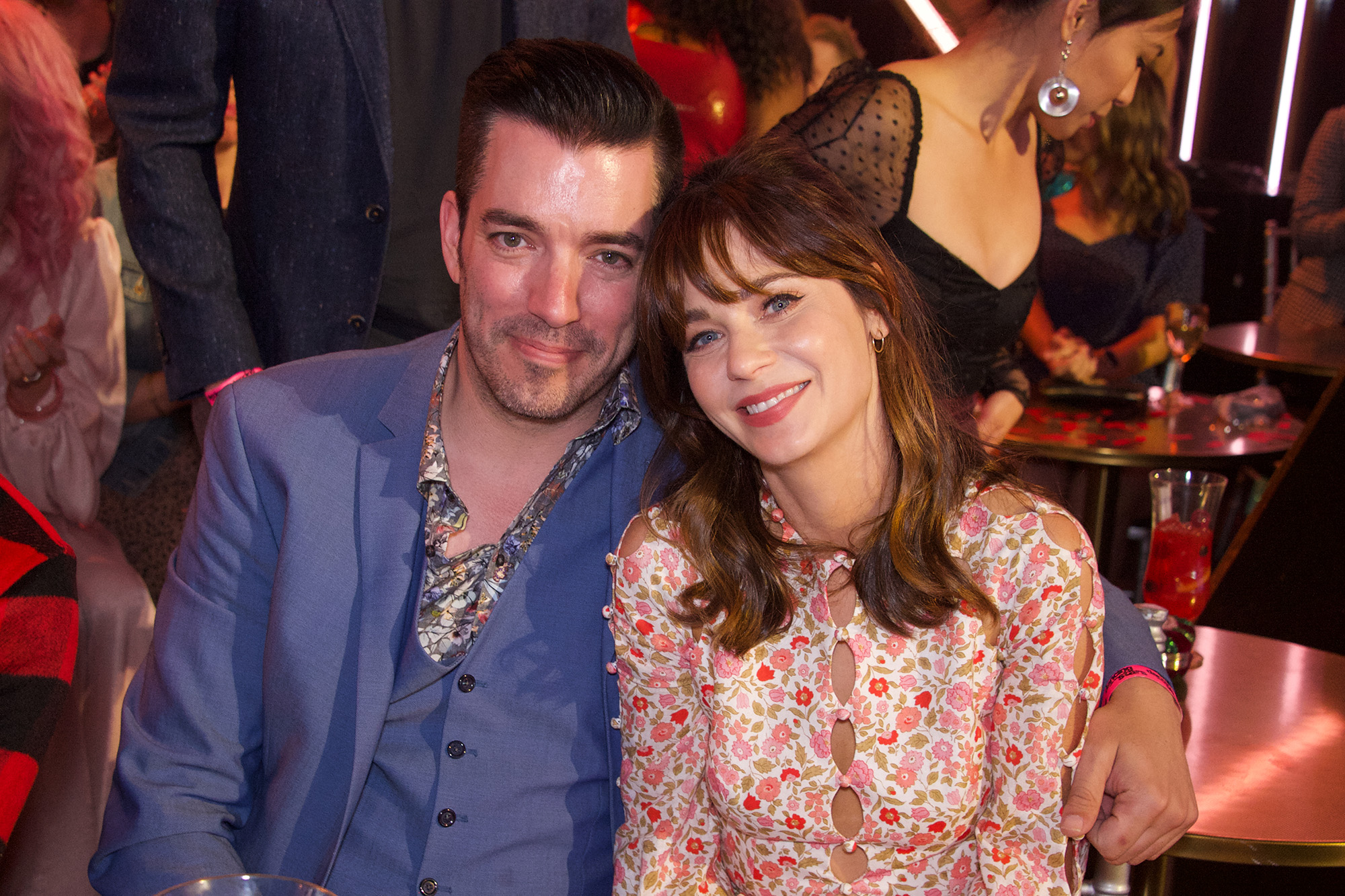 Jonathan Scott and Zooey Deschanel