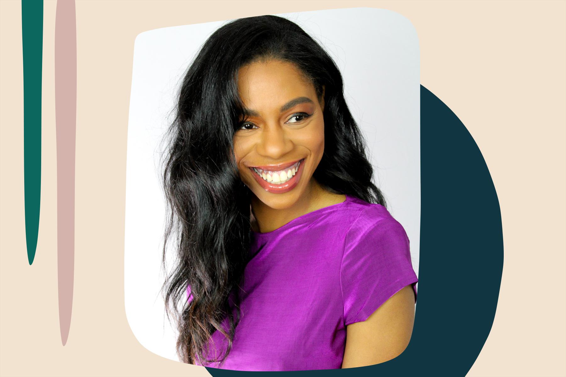 black women can have long hair, natural hair
