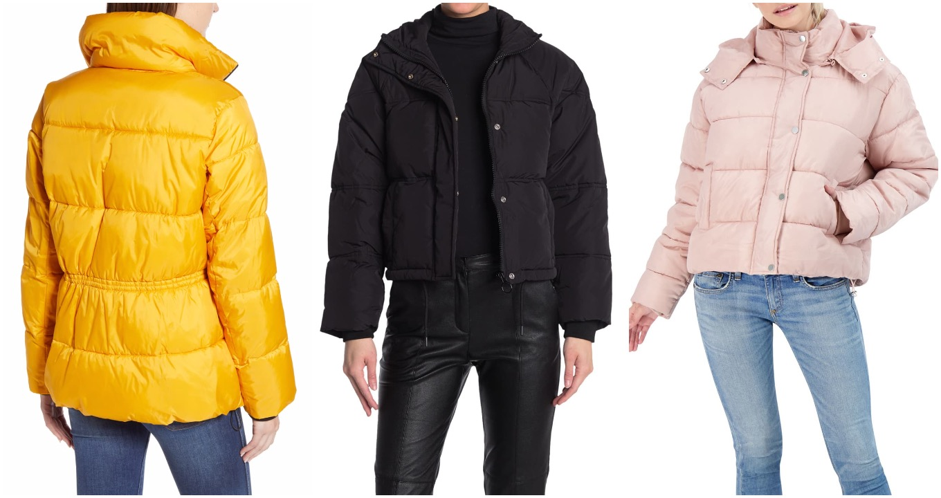 Nordstrom Rack cropped puffers