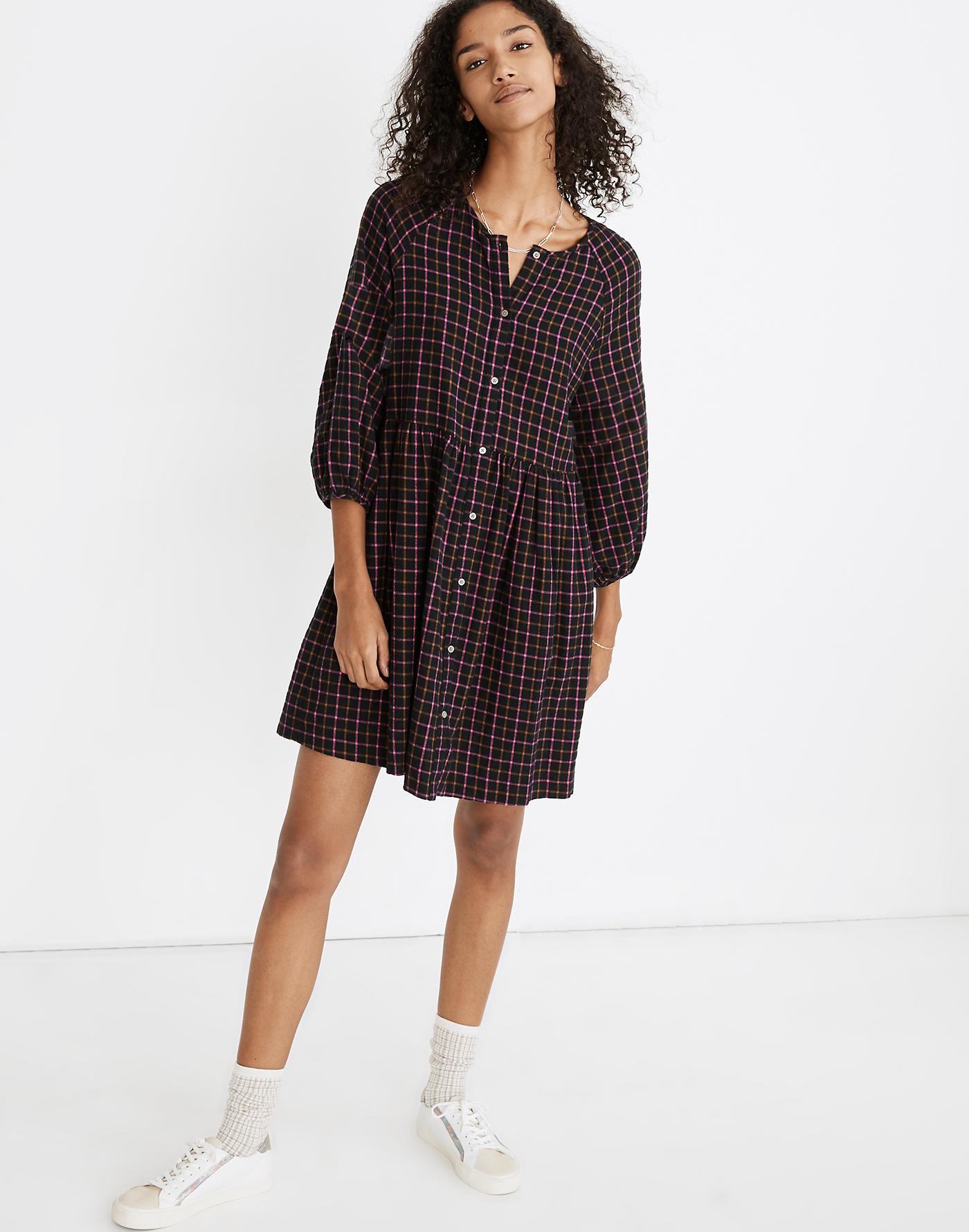 best shirt dresses madewell plaid shirt dress