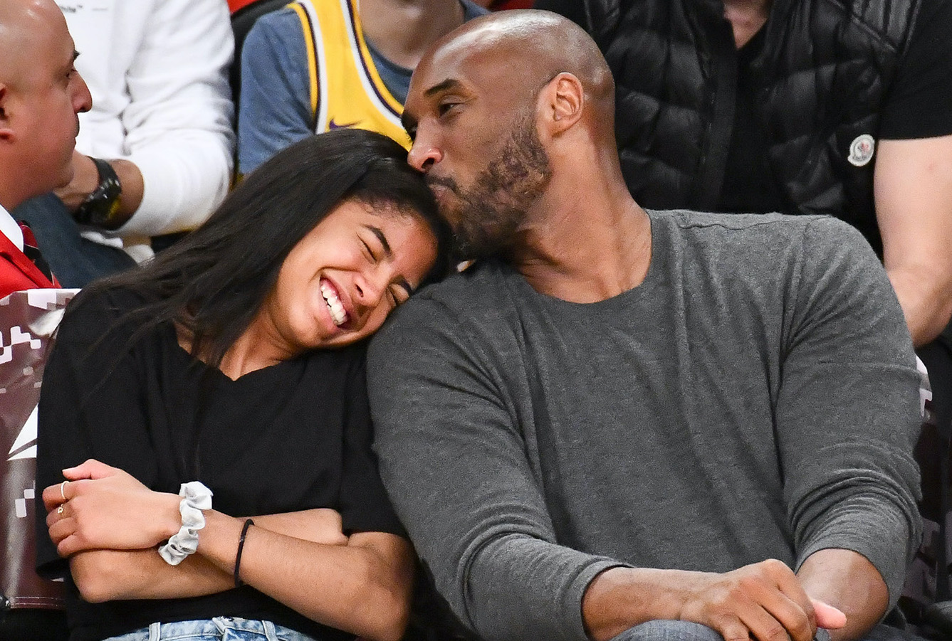 Gianna Bryant and Kobe Bryant
