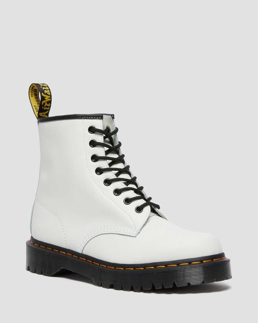 dr martens white combat boots