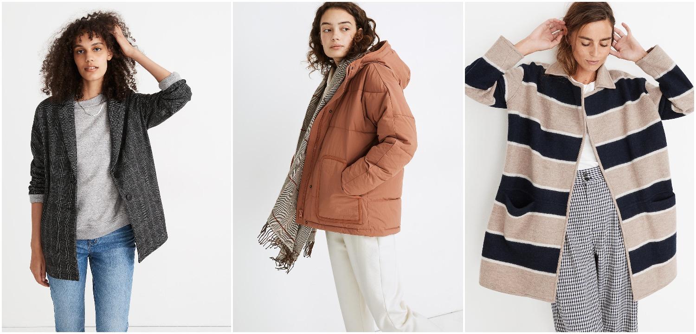 Madewell sale jackets