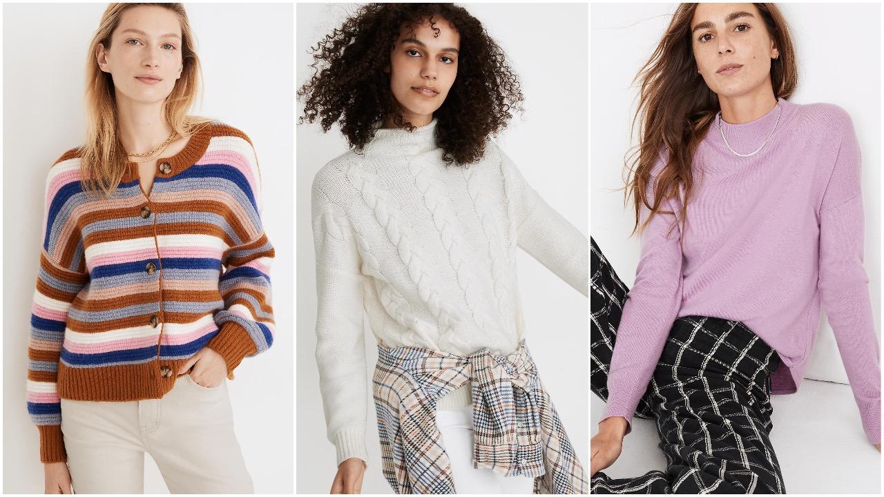 Madewell sweaters sale