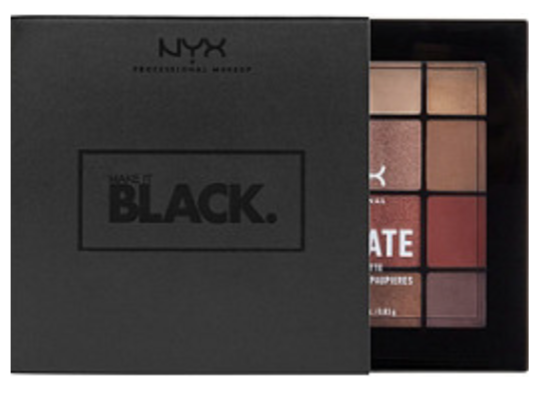 NYX Make It Black Warm Neutrals Ultimate Shadow Palette