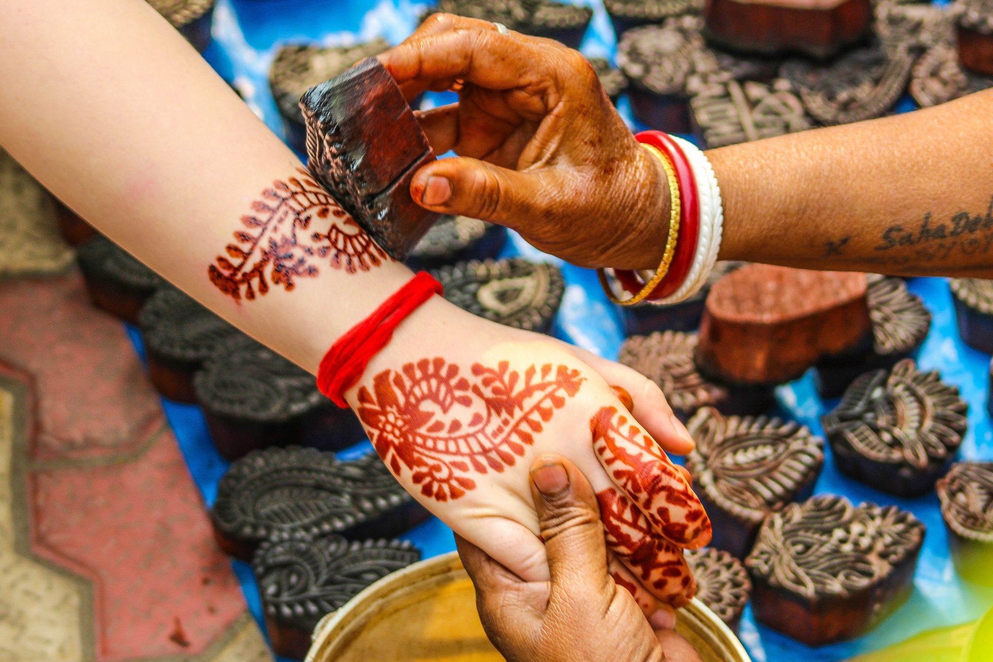 south asian beauty tips henna