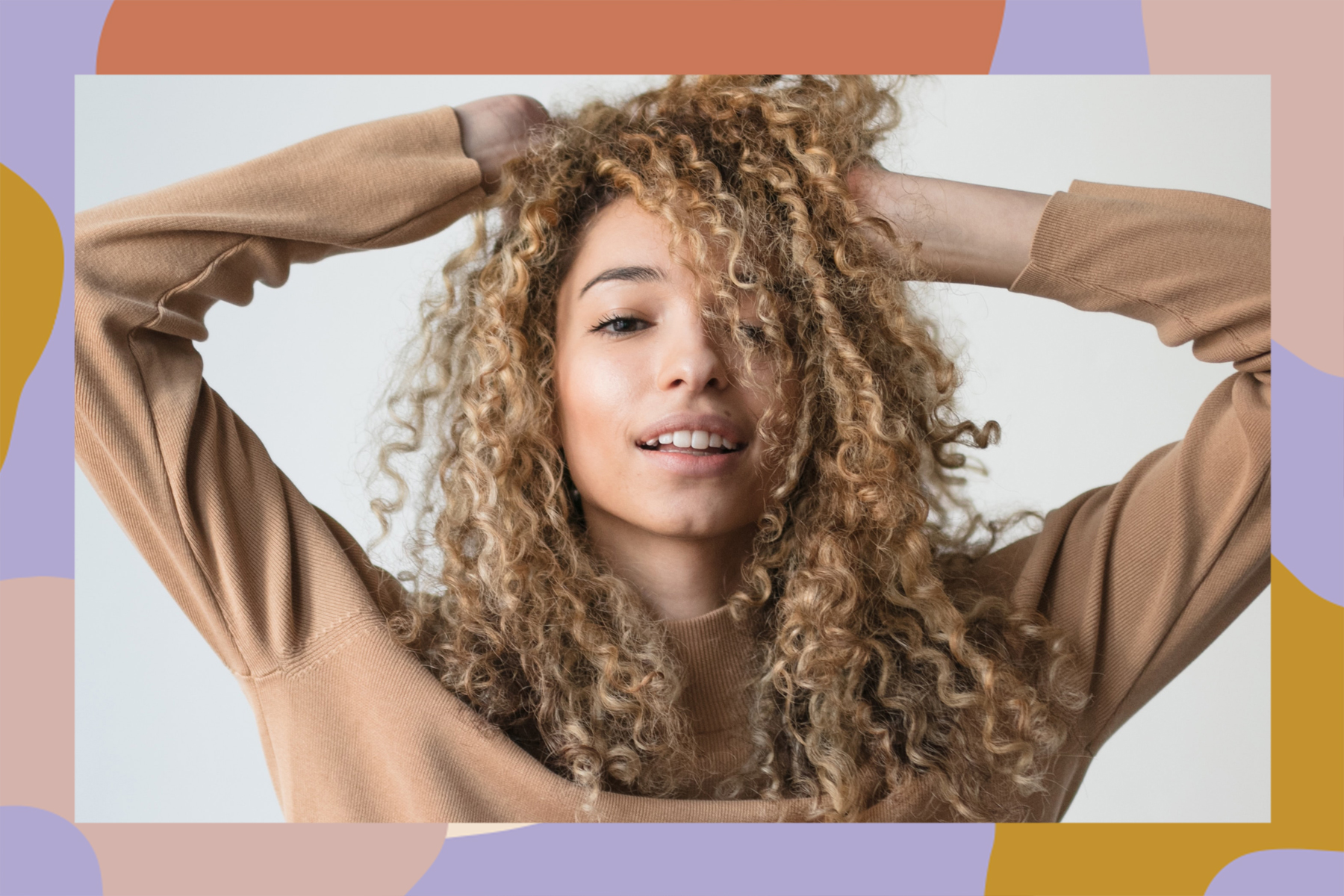 dyeing natural hair how to dye textured
