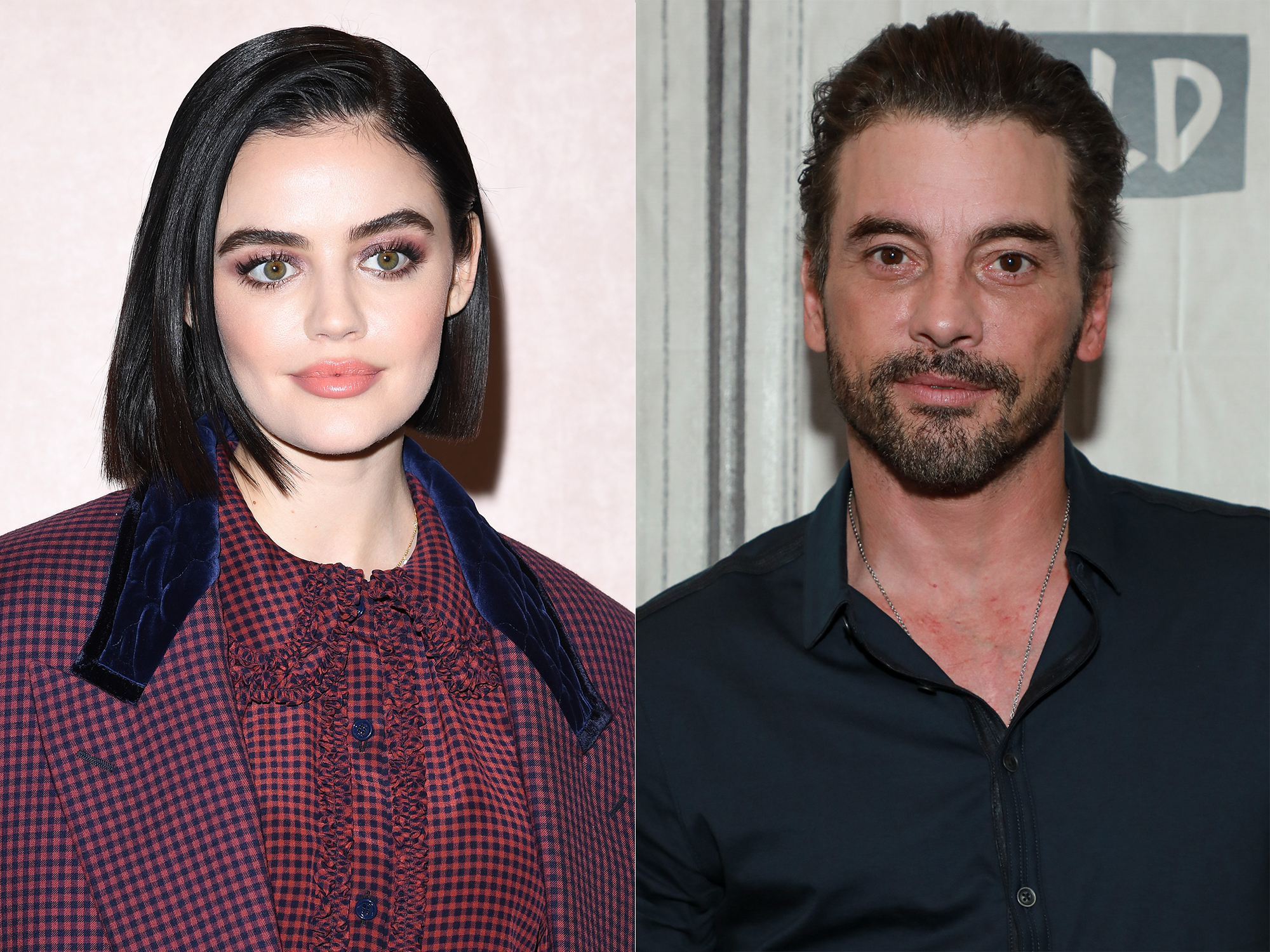 Lucy Hale and Skeet Ulrich
