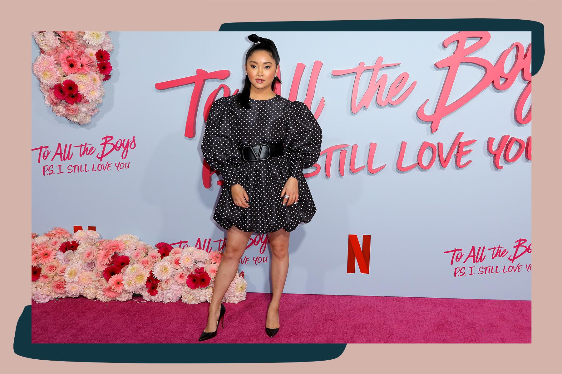 Lana Condor fashion Tara Swennen stylist