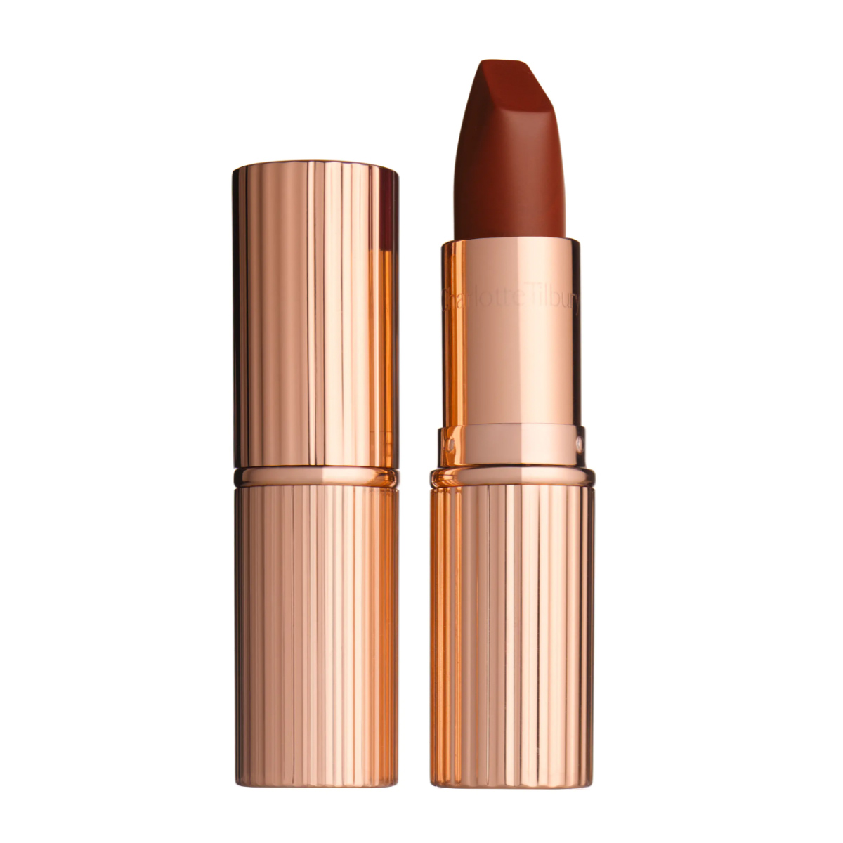 '90s makeup trend beauty trends brown lipstick