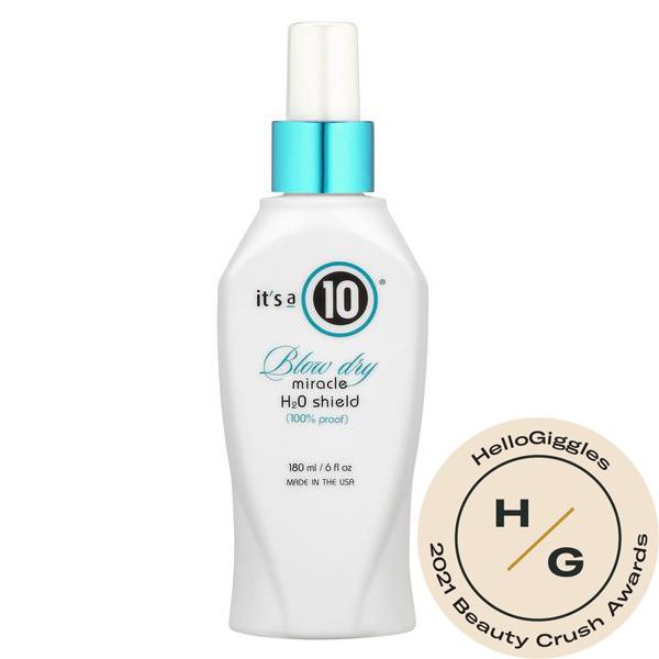 make hair shiny beauty crush awards heat protectant cheap drugstore