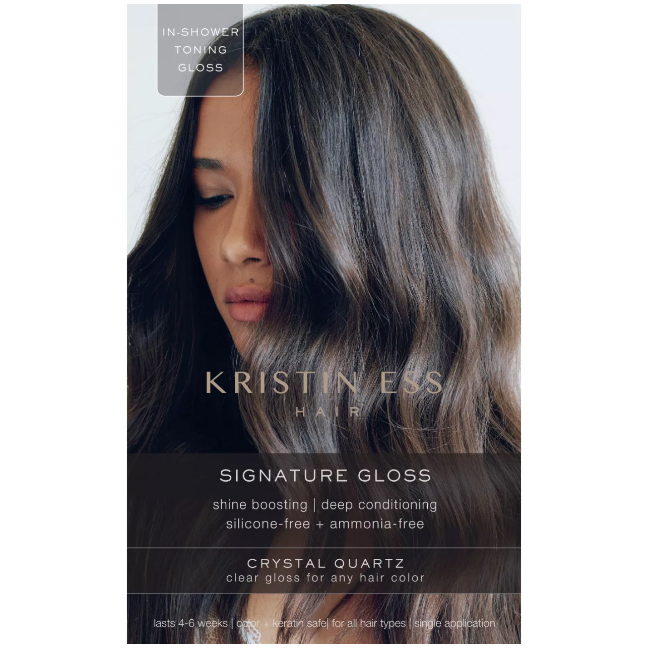 how to make hair shiny gloss treatment kristin ess target budget cheap