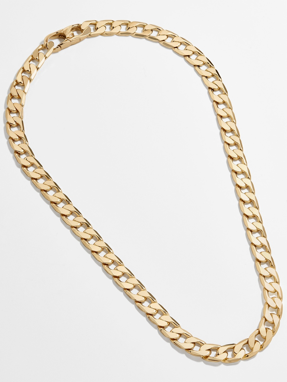 Baublebar chain link necklace