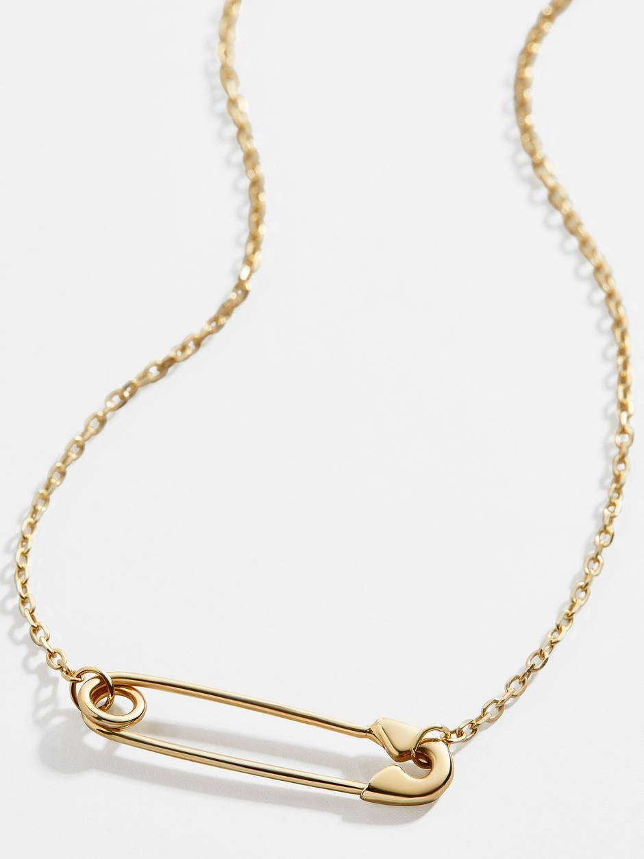 Baublebar paperclip necklace