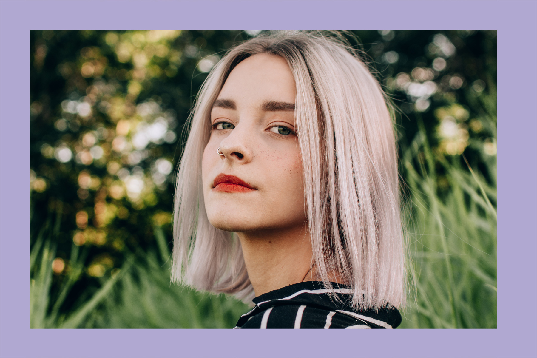 This Purple Shampoo Hack is a Game-Changer for Brassy, Blonde Hair