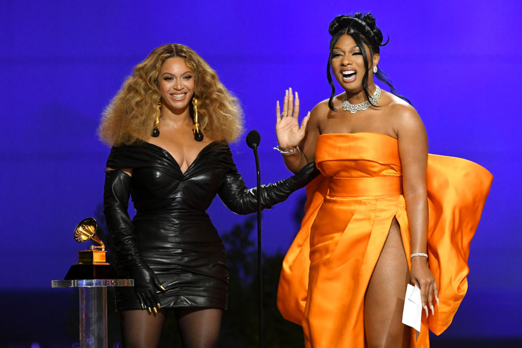 Beyonce Megan Thee Stallion Grammys