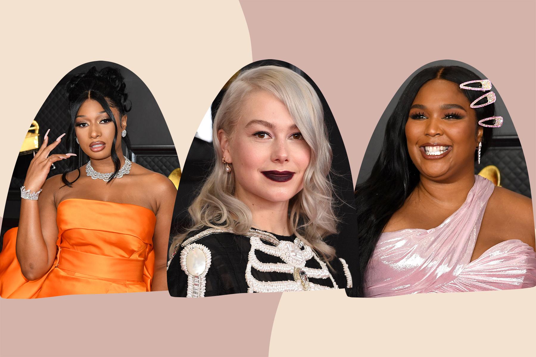 best beauty looks grammy awards 2021