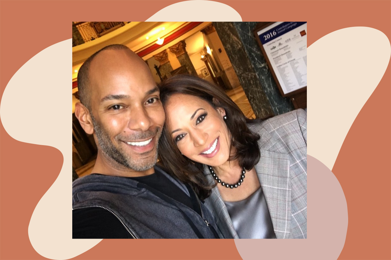 kamala harris makeup artist sam fine black-owned beauty products