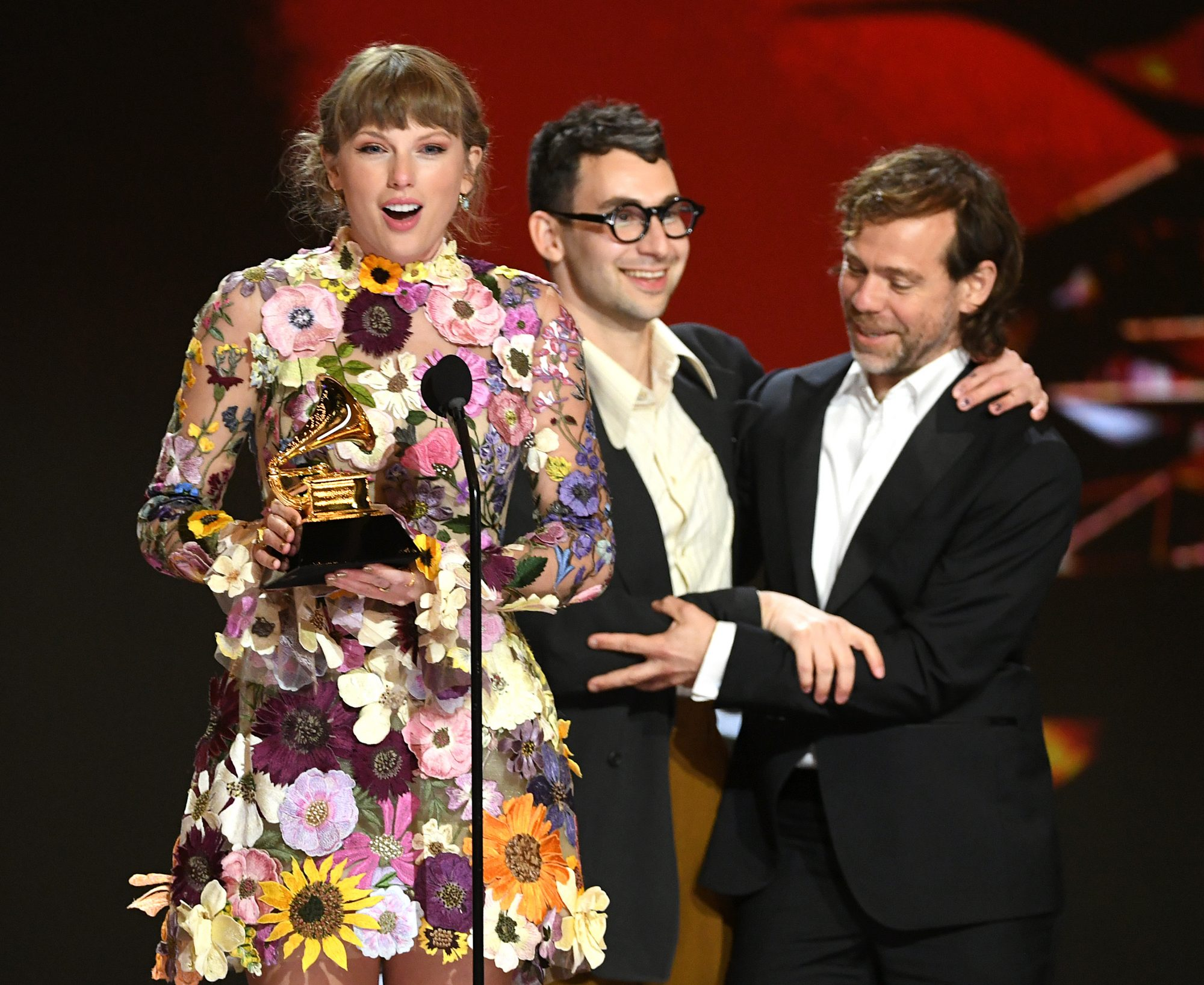 Taylor Swift Grammys Album of the Year Folklore