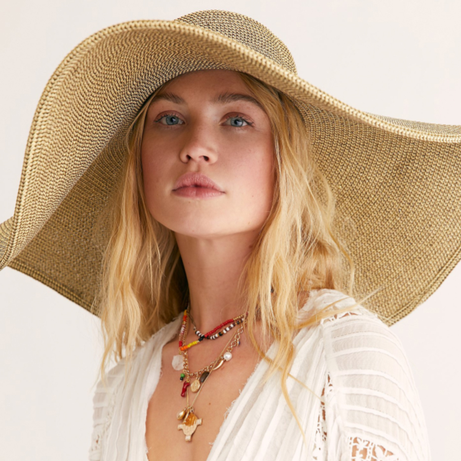beach outfits for women ideas hat
