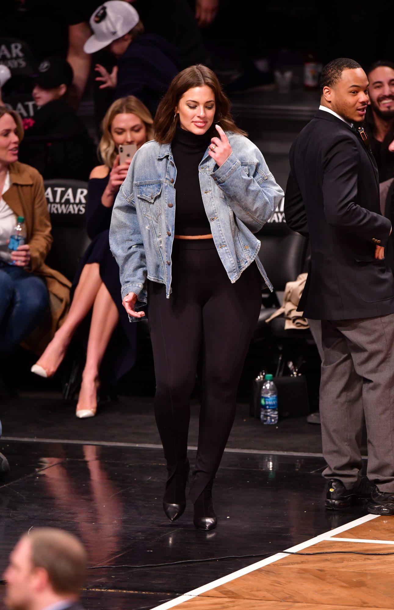 ashley graham jean jacket