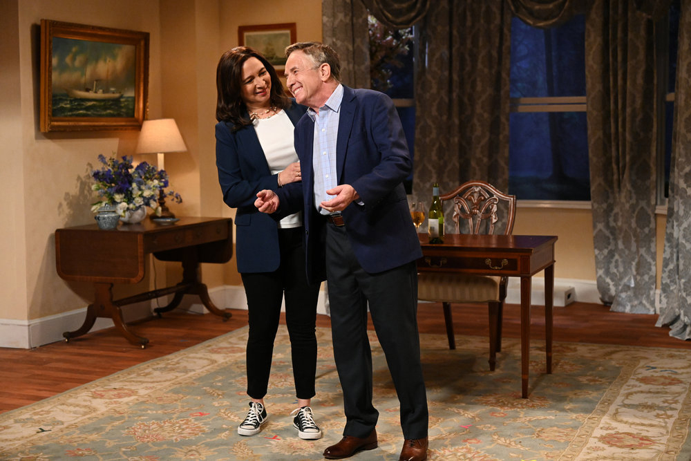 Maya Rudolph and Martin Short on SNL