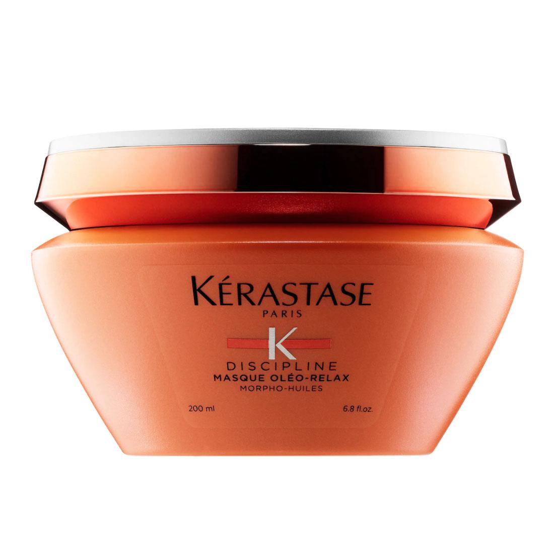 Kérastase Discipline Oleo Relax Anti-Frizz Mask naivasha hair care routine