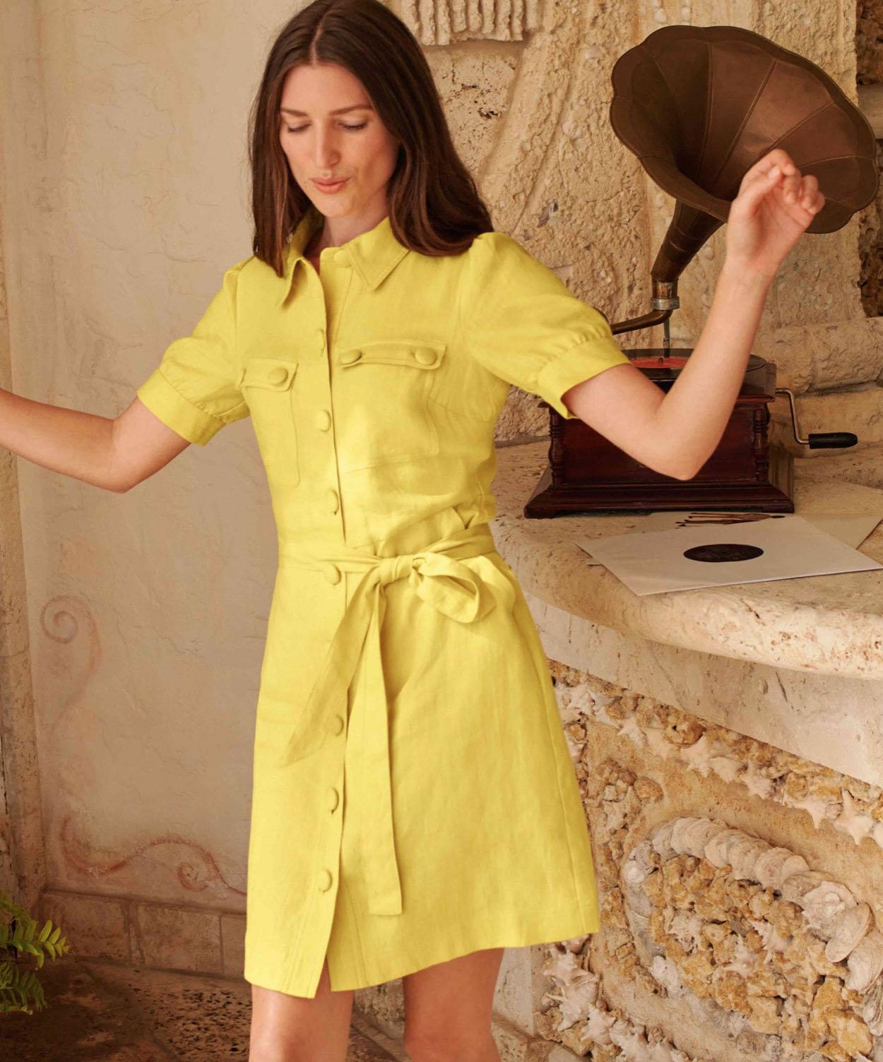 best sundresses shirtdress linen buttons mini belted boden