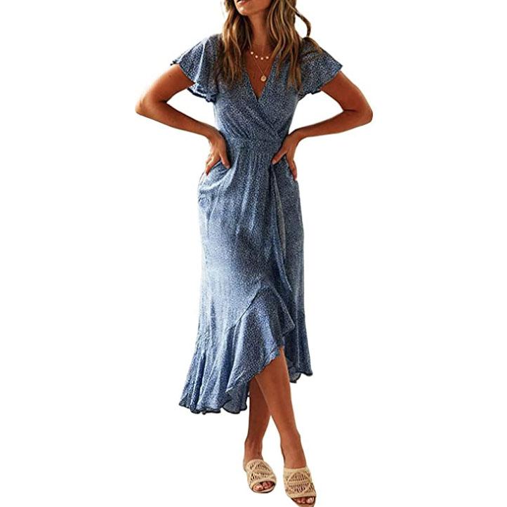 best sundresses midi maxi high-low bohemian amazon