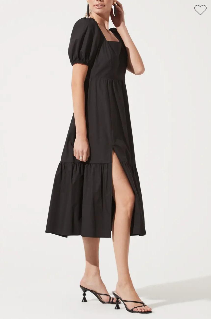 best sundresses nordstrom rack astr the label poplin puff sleeve sale